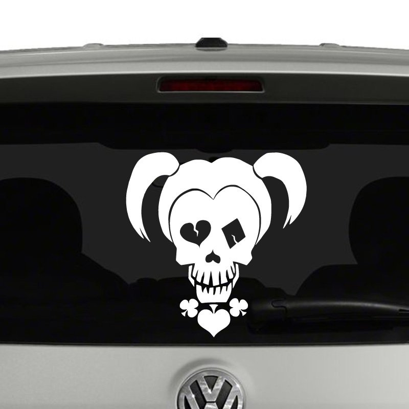 Car Decals Harley Quinn