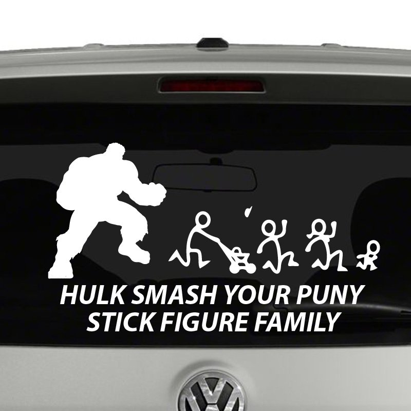how to put a decal on a car