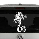 Mermaid with Fish Vinyl Decal Sticker
