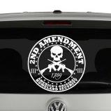 2nd Amendment Americas Original Homeland Security Vinyl Decal Sticker
