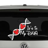 It's In My DNA Disney Mickey Mouse Vinyl Decal Sticker