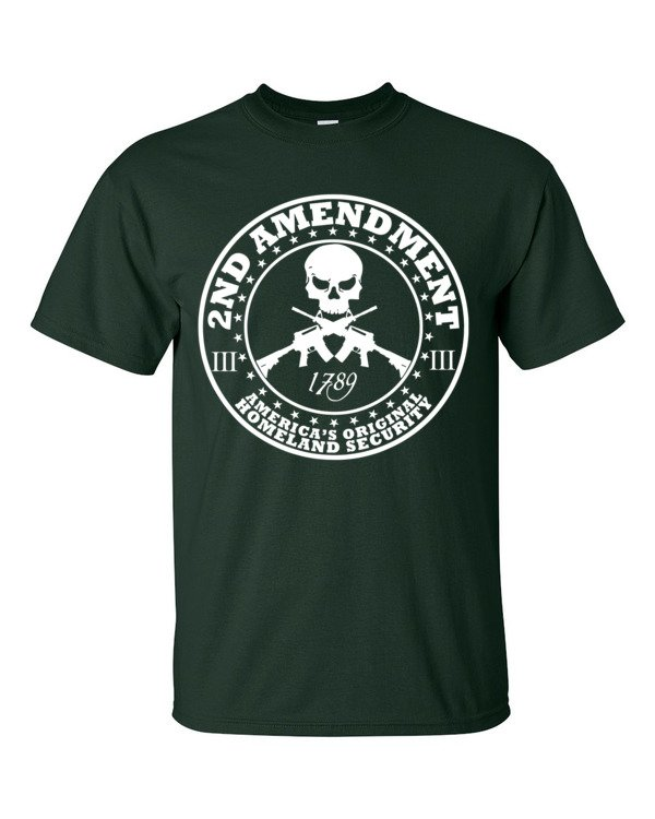 2nd Amendment Americas Original Homeland Security Short Sleeve T-Shirt