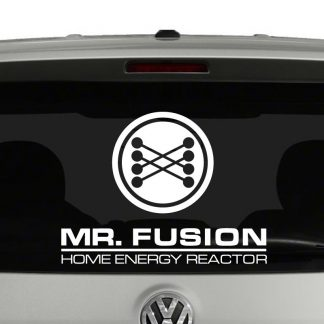 Mr Fusion Home Energy Reactor Back To The Future Inspired Vinyl Decal Sticker