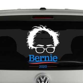 Bernie Sanders Silhouette 2020 Multi-Color Vinyl Decal Sticker Car Window