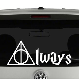 Harry Potter Deathly Hollows Always Vinyl Decal Sticker