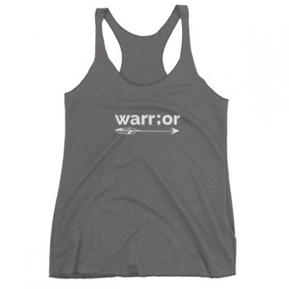 Semicolon Warrior Suicide Prevention Awareness Women's Tank Top