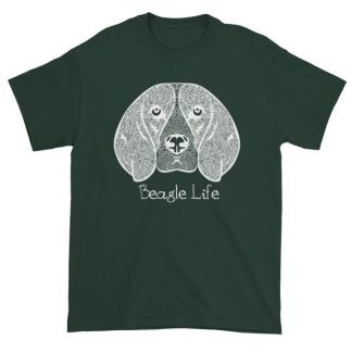 Beagle Life Dog Lovers Artistic T Shirt