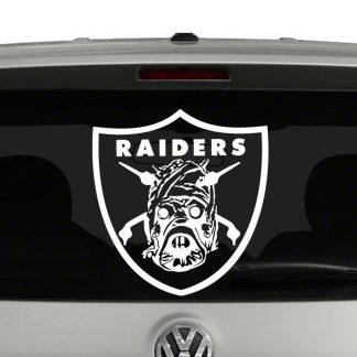 Tusken Raiders Star Wars Inspired Spoof Vinyl Decal Sticker