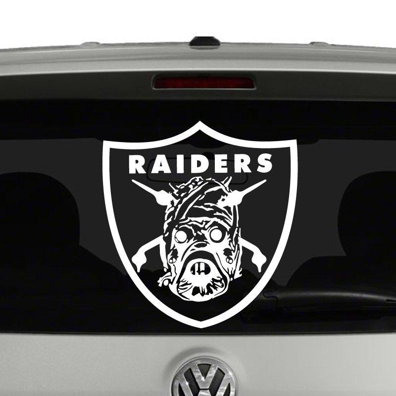 Tusken raiders star wars inspired spoof vinyl decal sticker