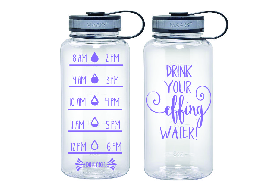 Water Tracker - Drink Your Effing Water Sports Water ...