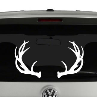 Deer Antlers Hunters Rack Vinyl Decal Sticker