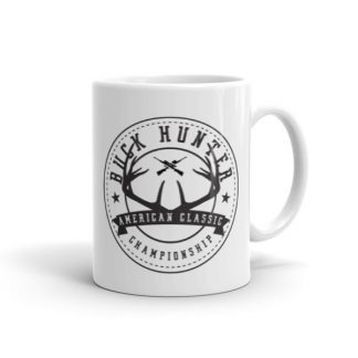 Buck Hunter American Classic Championship Hunting Lovers Ceramic Mug