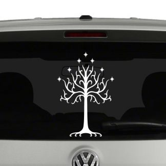 White Tree of Gondor Lord of the Rings Inspired Vinyl Decal Sticker