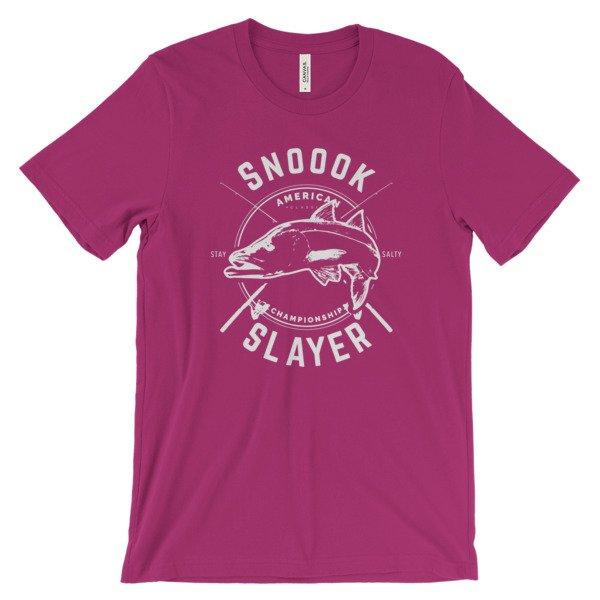 Snook Slayer Snook Fishing Lovers Unisex T-Shirt