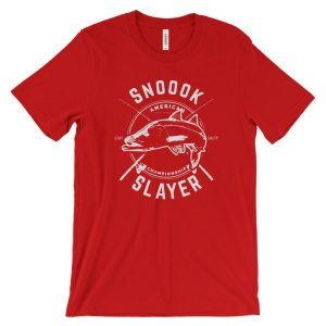 Snook Slayer Snook Fishing Lovers Unisex T-Shirt