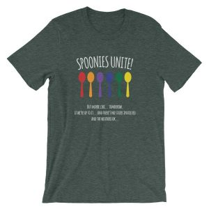 Spoonies Unite - But Maybe Tomorrow Chronic Illness Awareness T-Shirt