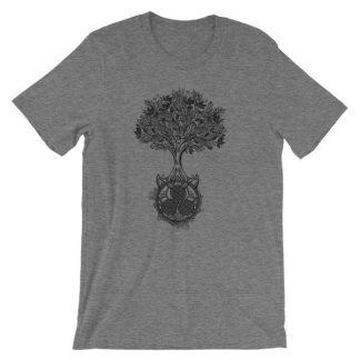 Tree of Life Triskele Triple Spiral Celtic Design T-Shirt