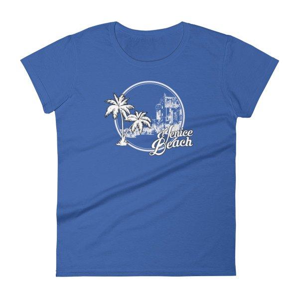 Venice beach los angeles california vintage women 39 s t shirt for Los angeles california shirt