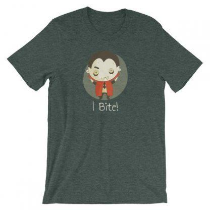 Vampire I Bite Cute Funny Creepy Halloween T-Shirt