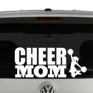 Cheer Mom Cheerleading Vinyl Decal Sticker