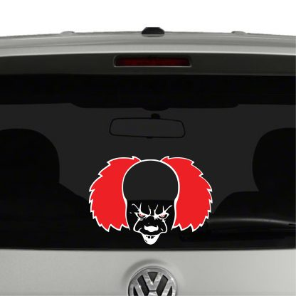 Pennywise Clown IT Inspired Vinyl Decal Sticker