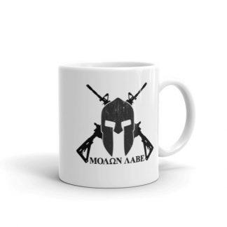 Molon Labe Come And Take Them 2nd Amendment Coffee Mug