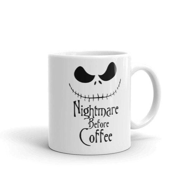 Nightmare Before Coffee Coffee Mug Cosmic Frogs Vinyl