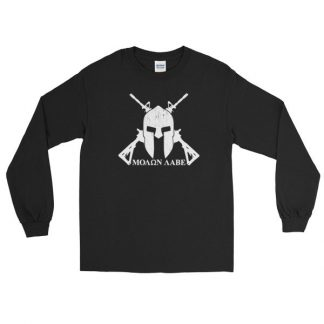 Molon Labe Come And Take Them 2nd Amendment Long Sleeve T-Shirt