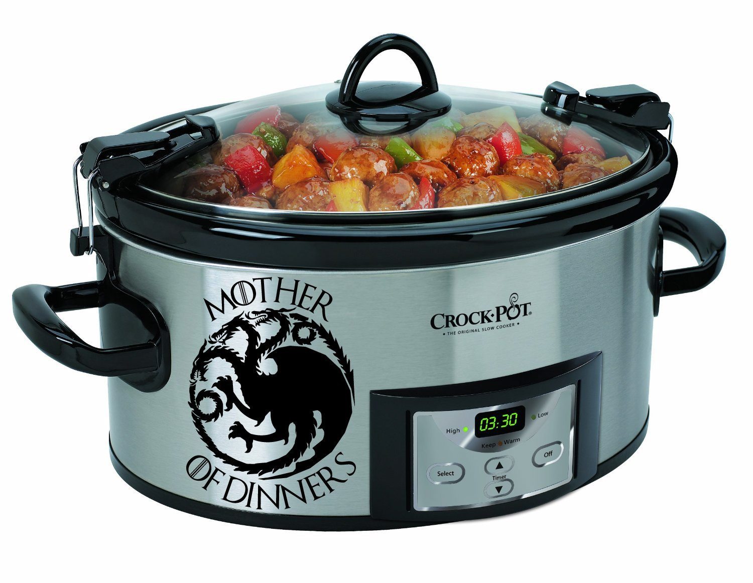 Mother of Dinners Crock Pot Game of Thrones Inspired Vinyl Decal Sticker