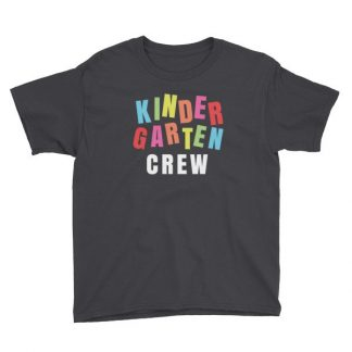 Kindergarten Crew Teacher Kindergartener School Youth Short Sleeve T-Shirt