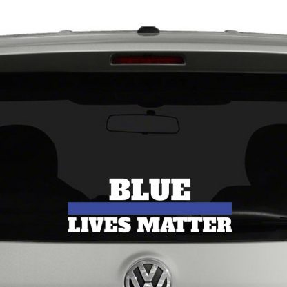 Blur Lives Matter Vinyl Decal Sticker