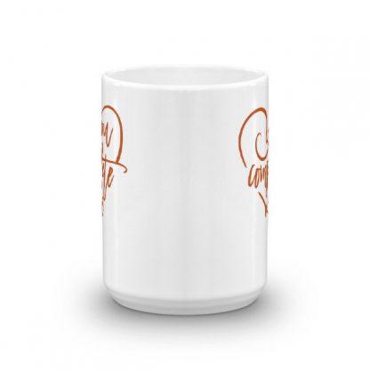 You Complete Me Heart Valentine Lovers Coffee Mug