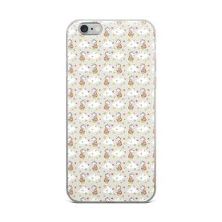Unicorn and Stars Pastel Mane iPhone Case