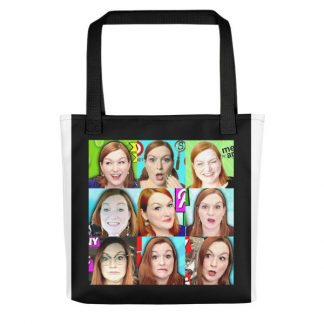 Many Faces of Margaret Tote bag