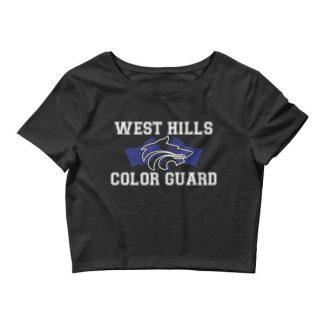 West Hills Color Guard Women's Crop Tee
