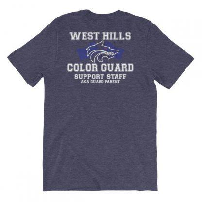 West Hills Color Guard Parent Short-Sleeve Unisex T-Shirt