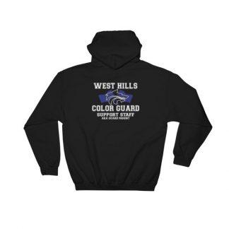 West Hills Color Guard Parents Hooded Sweatshirt