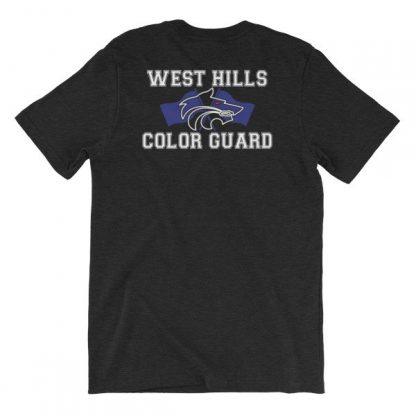West Hills Color Guard Short-Sleeve Unisex T-Shirt