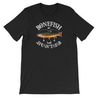 Bonefish Hunter Fishermans Fishing Lovers Short-Sleeve Unisex T-Shirt