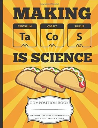 Making Tacos Is Science Composition Book