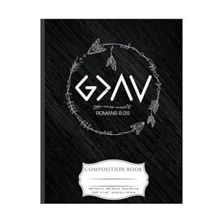 God Is Greater Than The Highs and Lows Composition Book: Wide Ruled Lined 100 Pages Book