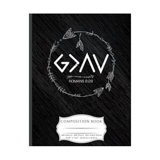God Is Greater Than The Highs and Lows Composition Book: Dot Grid 100 Pages Book