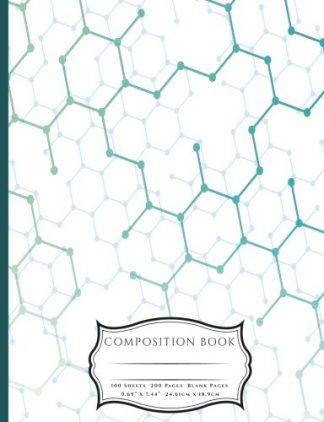 Hexagon Molecules Composition Book