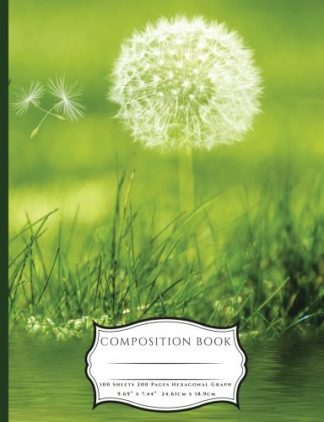 Dandelions and Ladybugs Composition Book