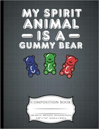 My Spirit Animal Is A Gummy Bear Composition Book