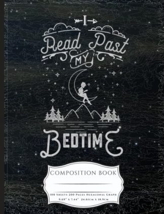 I Read Past My Bedtime Composition Book