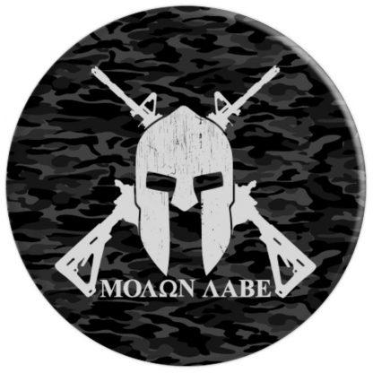 Molon Labe Come And Take Them 2nd Amendment Dark Camouflage - PopSockets Grip