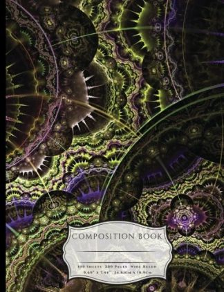 Fractal Art Texture and Patterns Composition Book