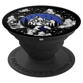 Starry Night Sky in the Mountains by the River - PopSockets Grip