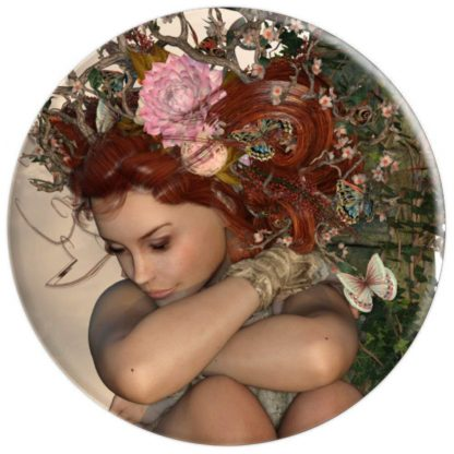 Fairy Wood Nymph Fantasy PopSocket Grip - PopSockets Grip and Stand for Phones and Tablets